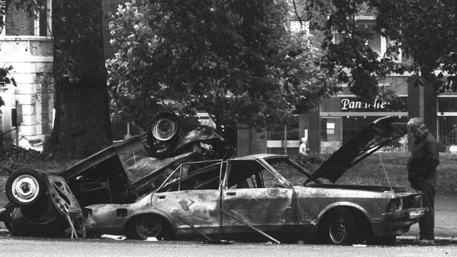 Politics - IRA Hyde Park Bombing - London