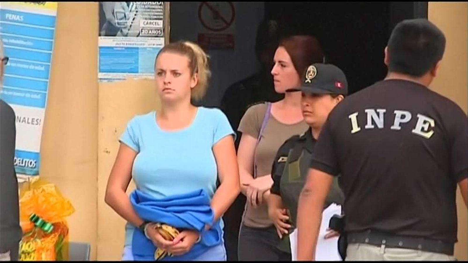 Michaella McCollum Connolly and Melissa Reid are sentenced to prison