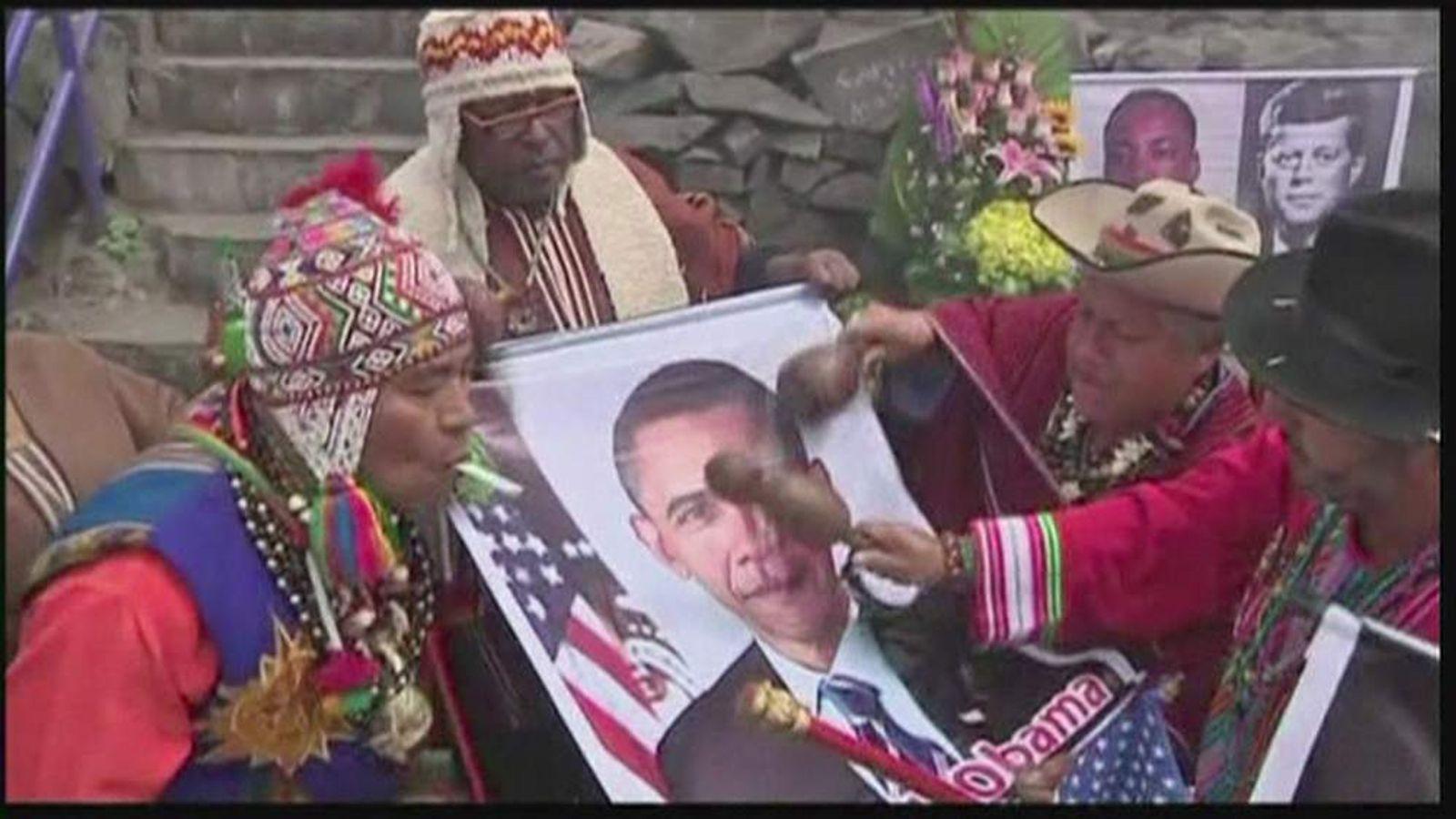 Shaman Predict Barack Obama Will Win US Election