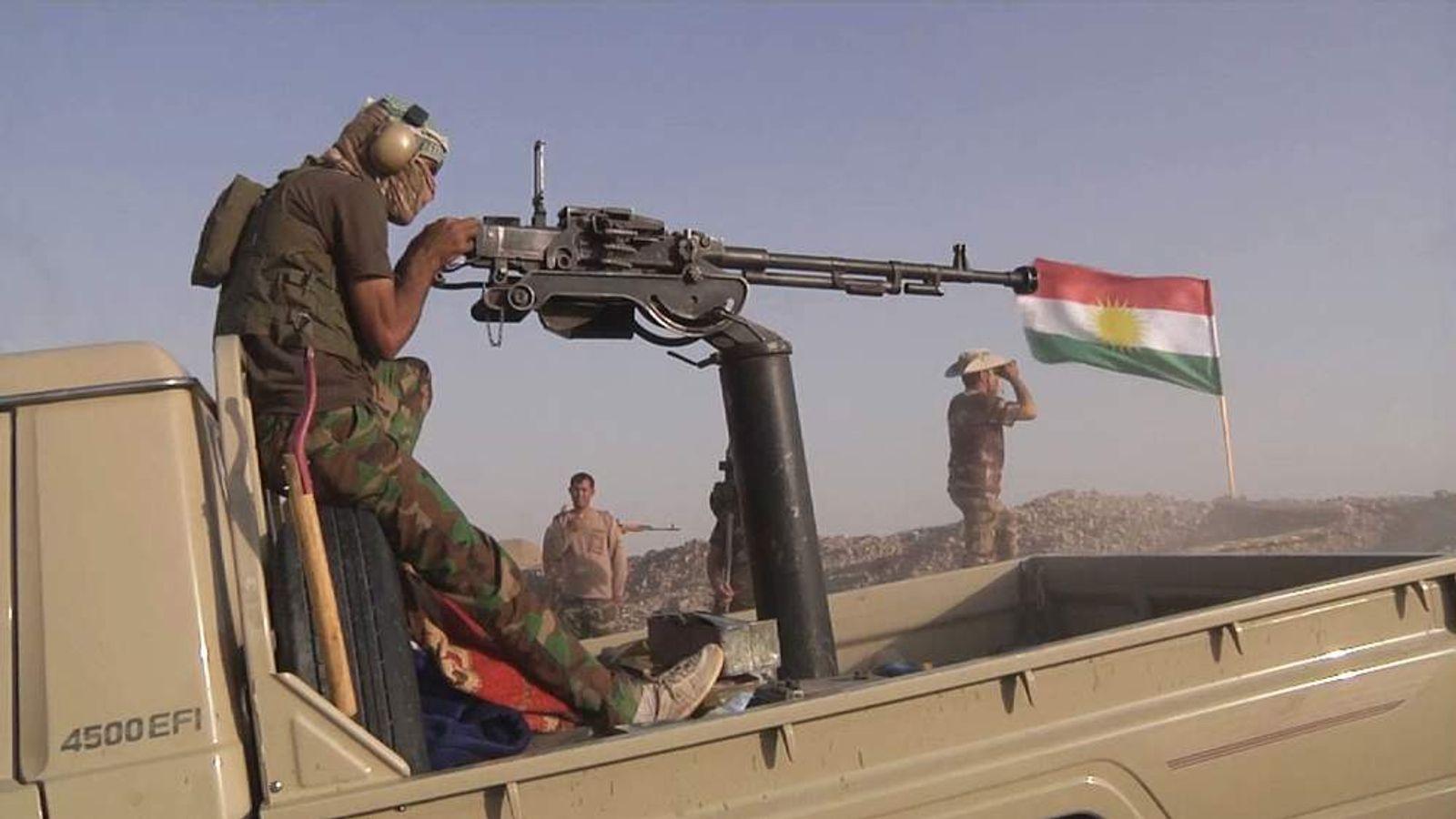 Kurdish Peshmerga forces in Iraq