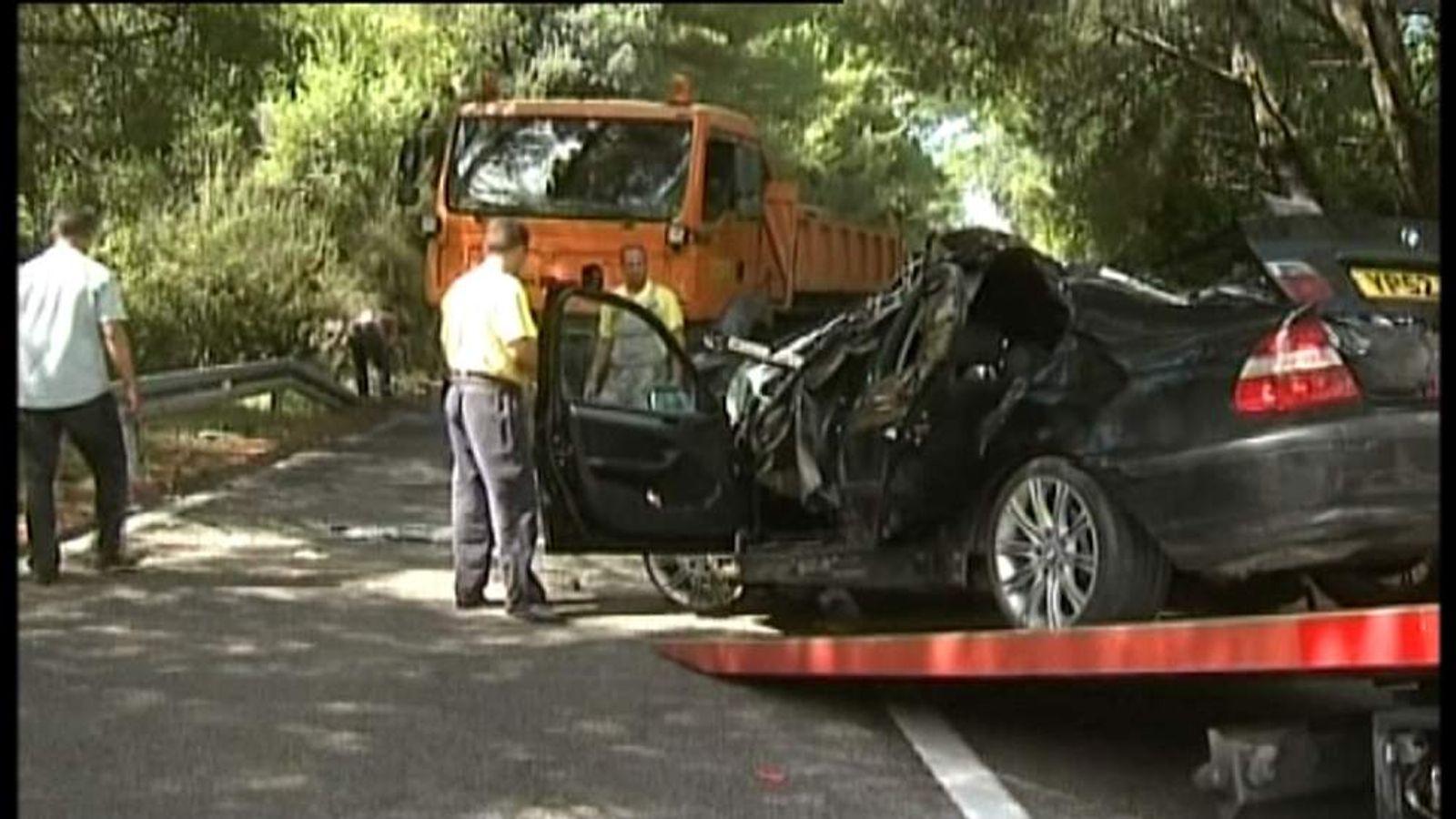 Three Britons killed in car crash