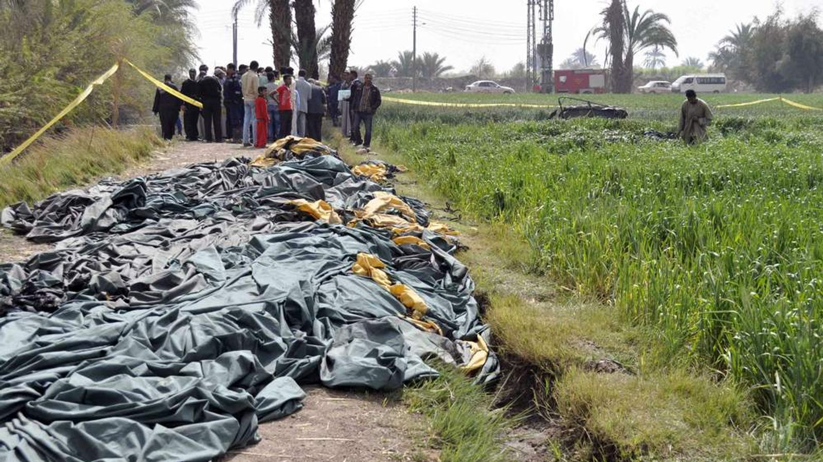 Deadly Balloon Crash In Egypt