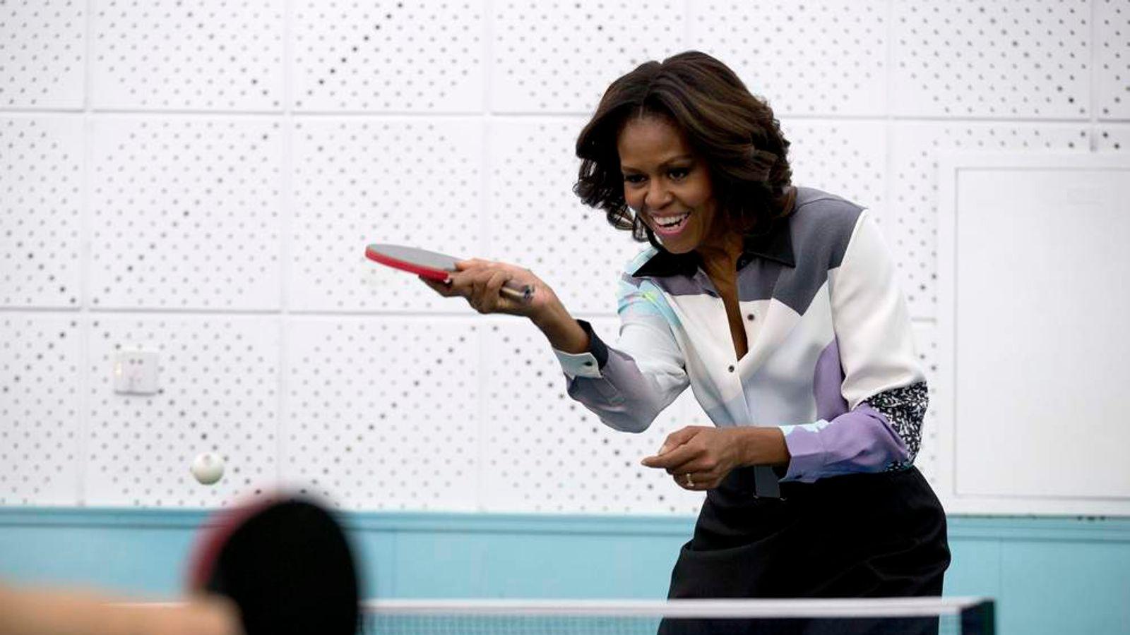 Michelle Obama Visits China