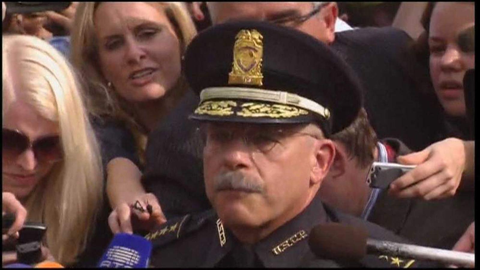 Capitol Police Chief Kim Dine