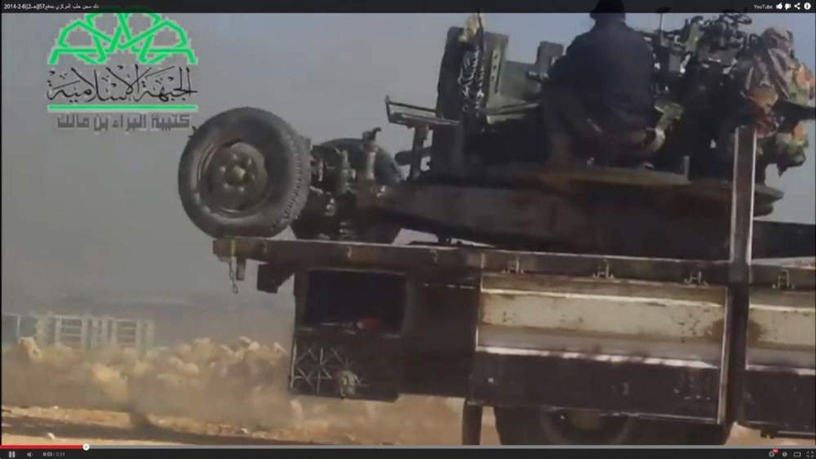 Rebel fighters attack Aleppo Central Prison