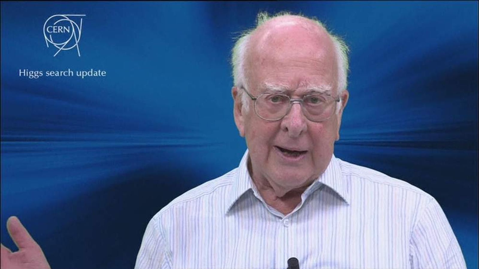Professor Peter Higgs