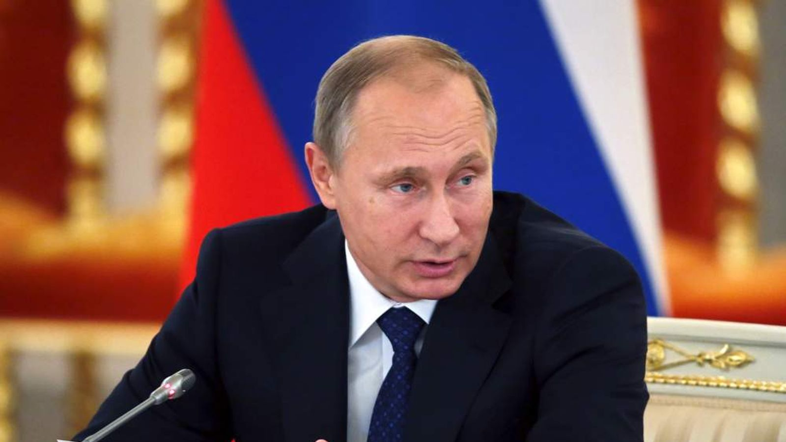 Putin attends a meeting with members of the Presidential Council for Civil Society and Human Rights in Moscow