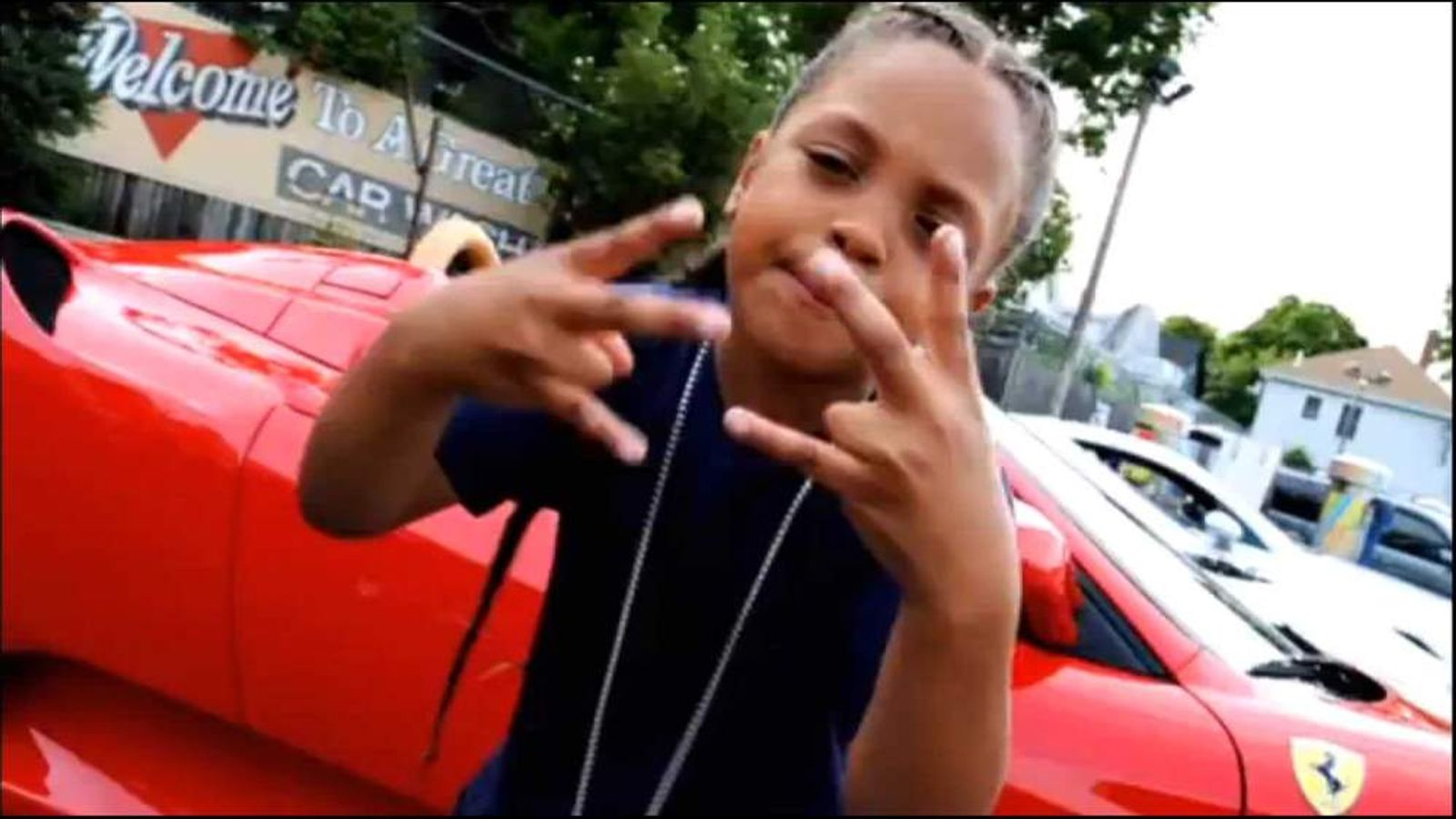 9-year-old rapper Lil Poopy