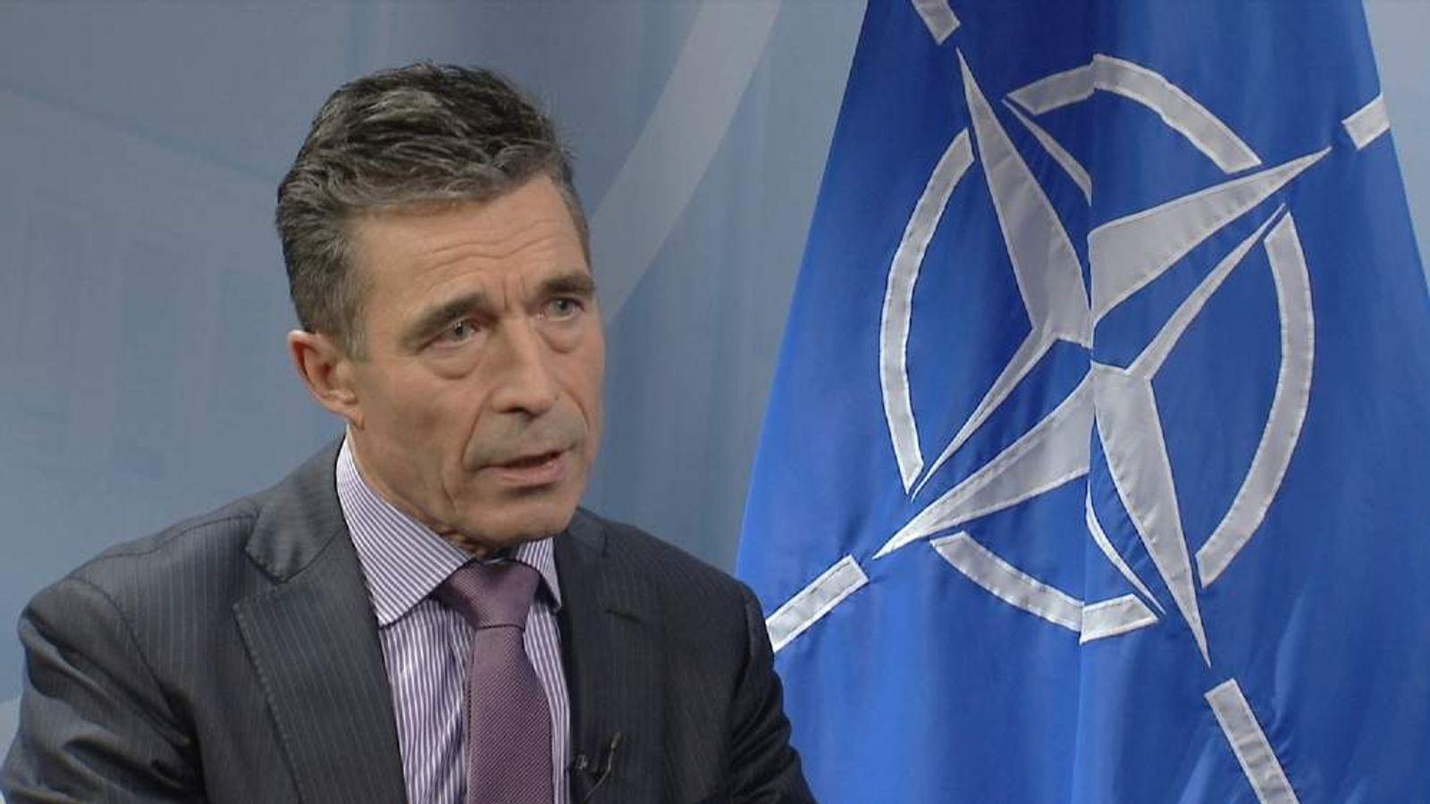 NATO's Anders Fogh Rasmussen