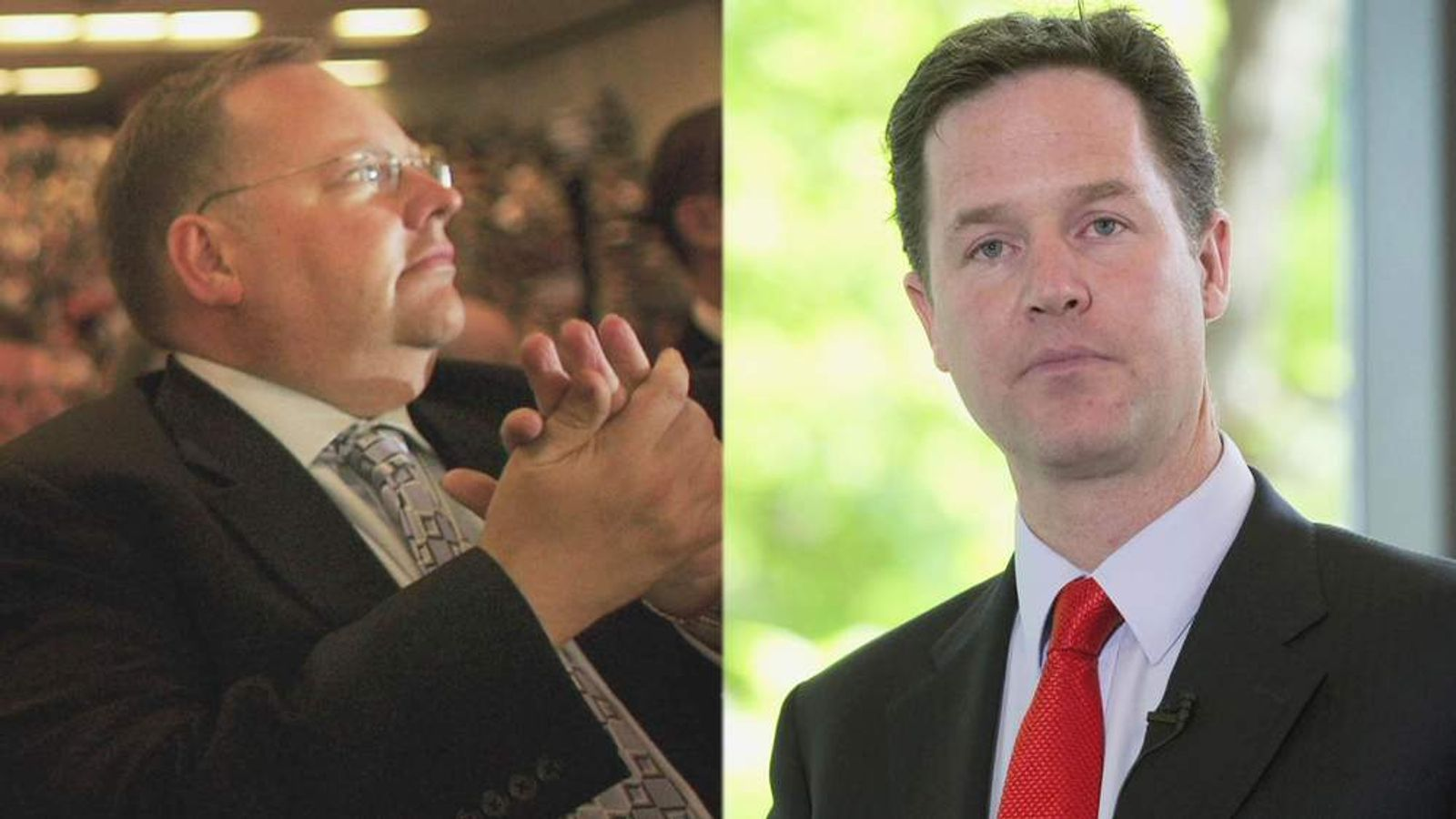 Nick Clegg and Lord Rennard