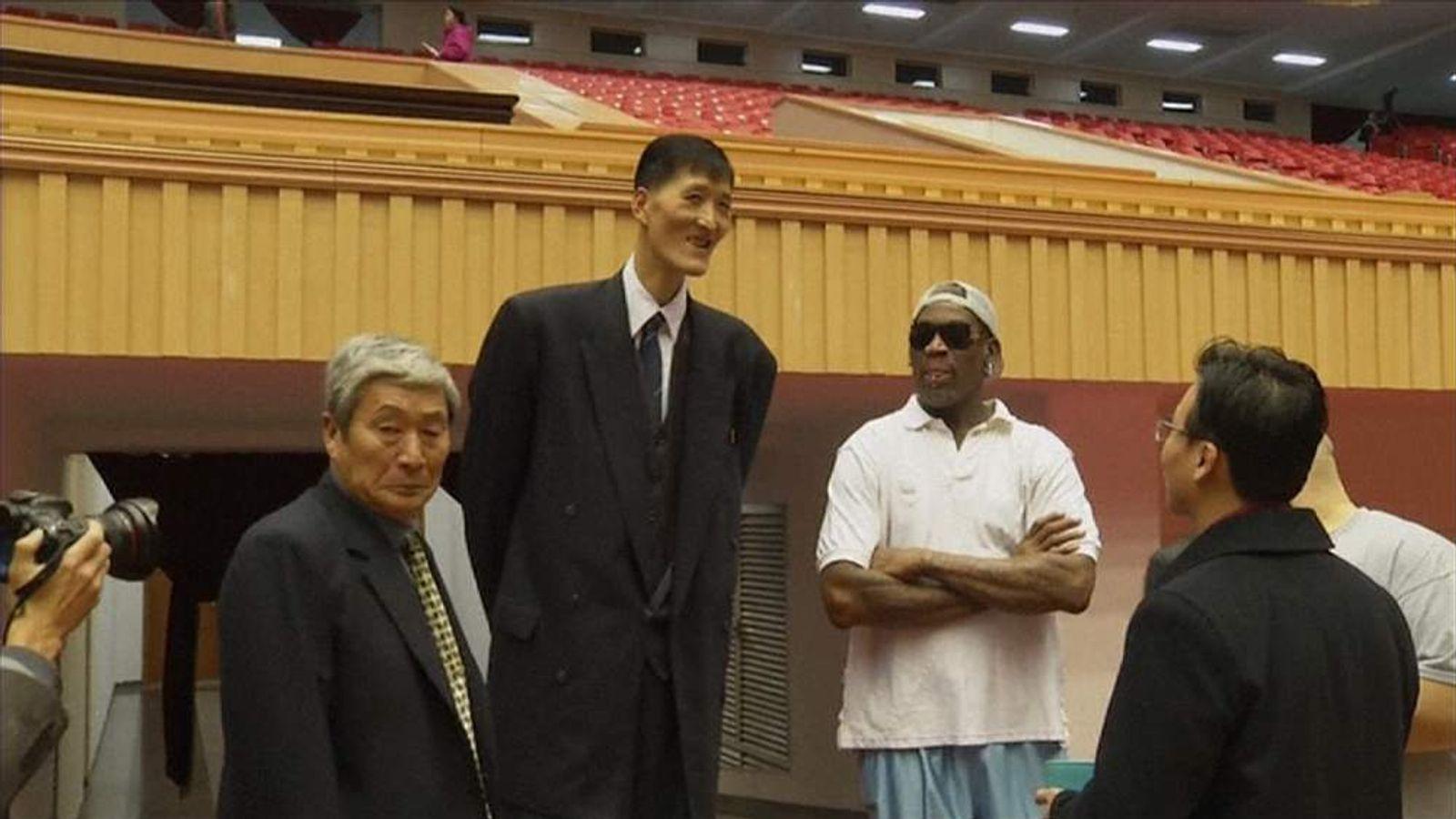 Basketball Star Rodman In Pyongyang