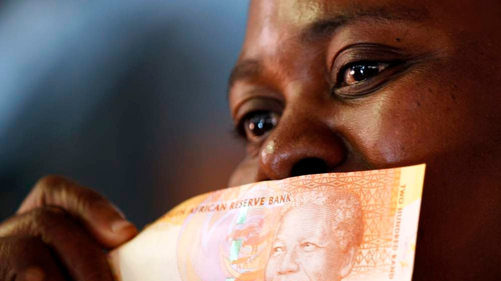 South Africa's new banknotes, which features an image of Nelson Mandela