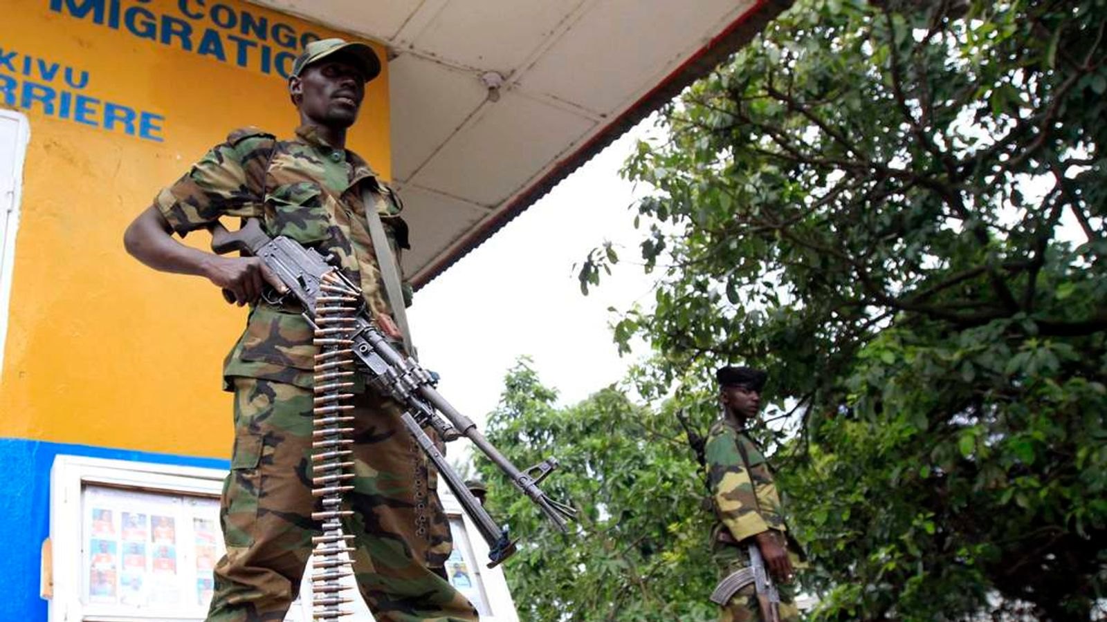 Soon after capturing the city from the government army. Rebels widely believed to be backed by Rwanda claimed control of Goma in the eastern Democratic Republic of Congo.