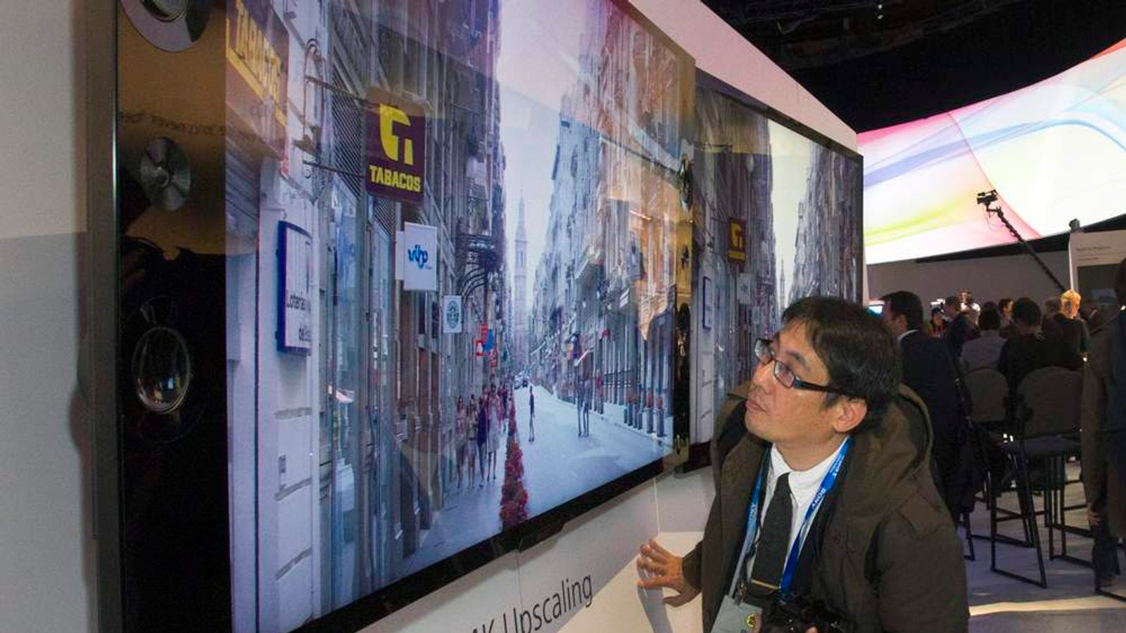 A Sony X-Reality PRO 4K Ultra HD television