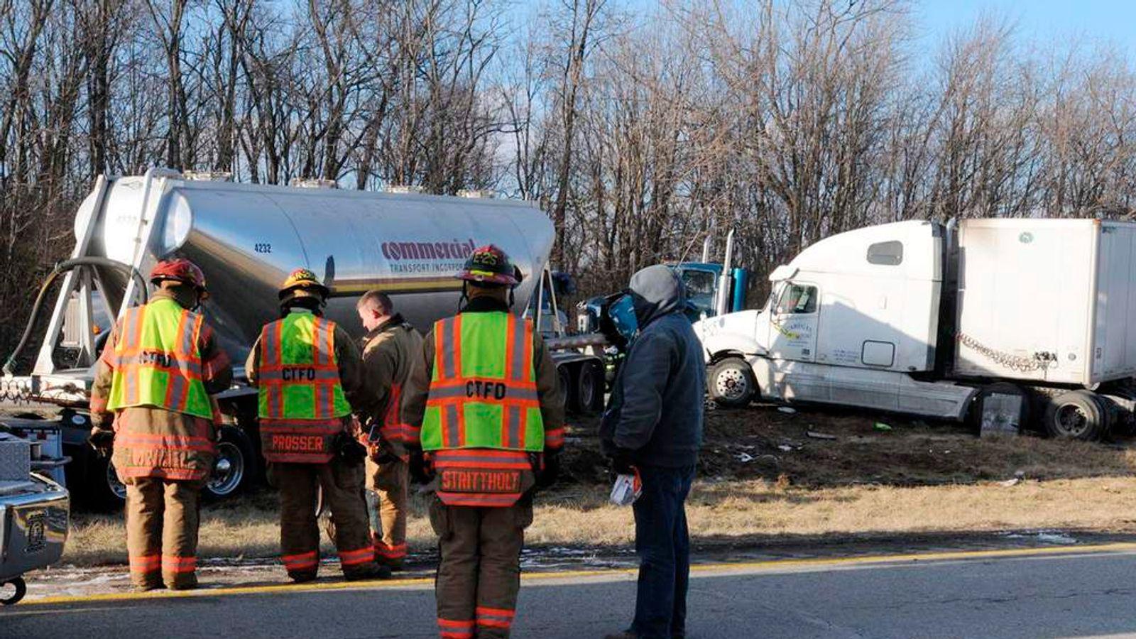 Ohio authorities respond to multi-car crash on Interstate 275 near Cincinnati