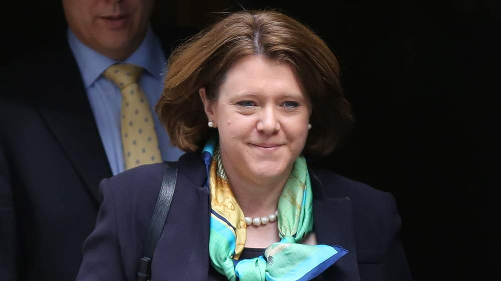 Britain's Minister for Culture, Media and Sport Maria Miller leaves 10 Downing Street after a cabinet meeting in central London