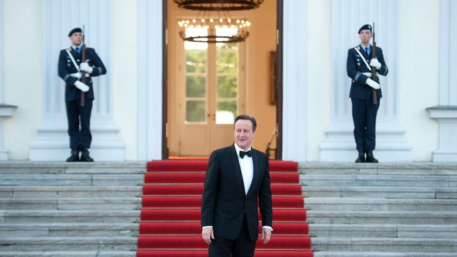 David Cameron in Berlin
