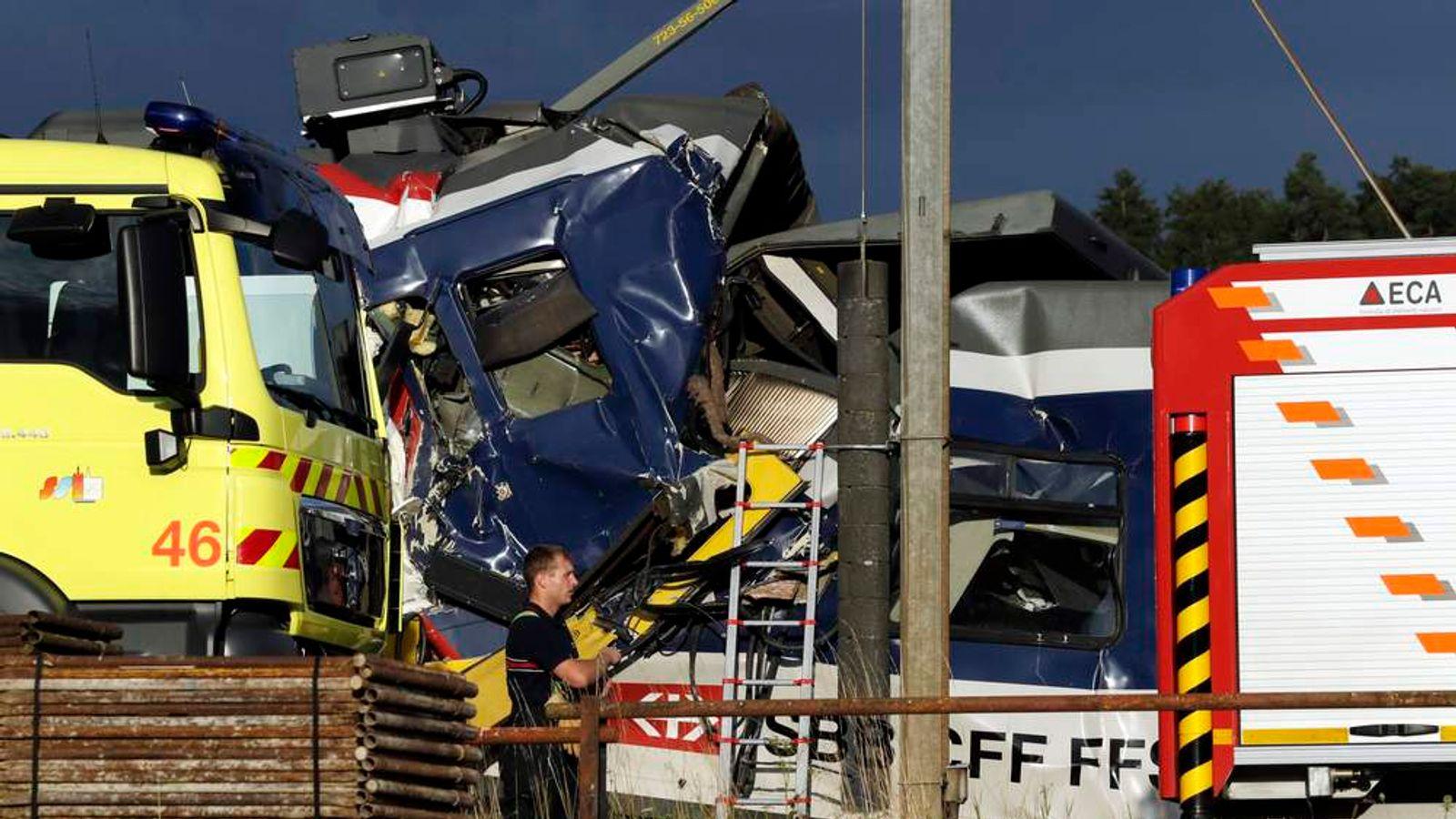 Swiss Train Crash
