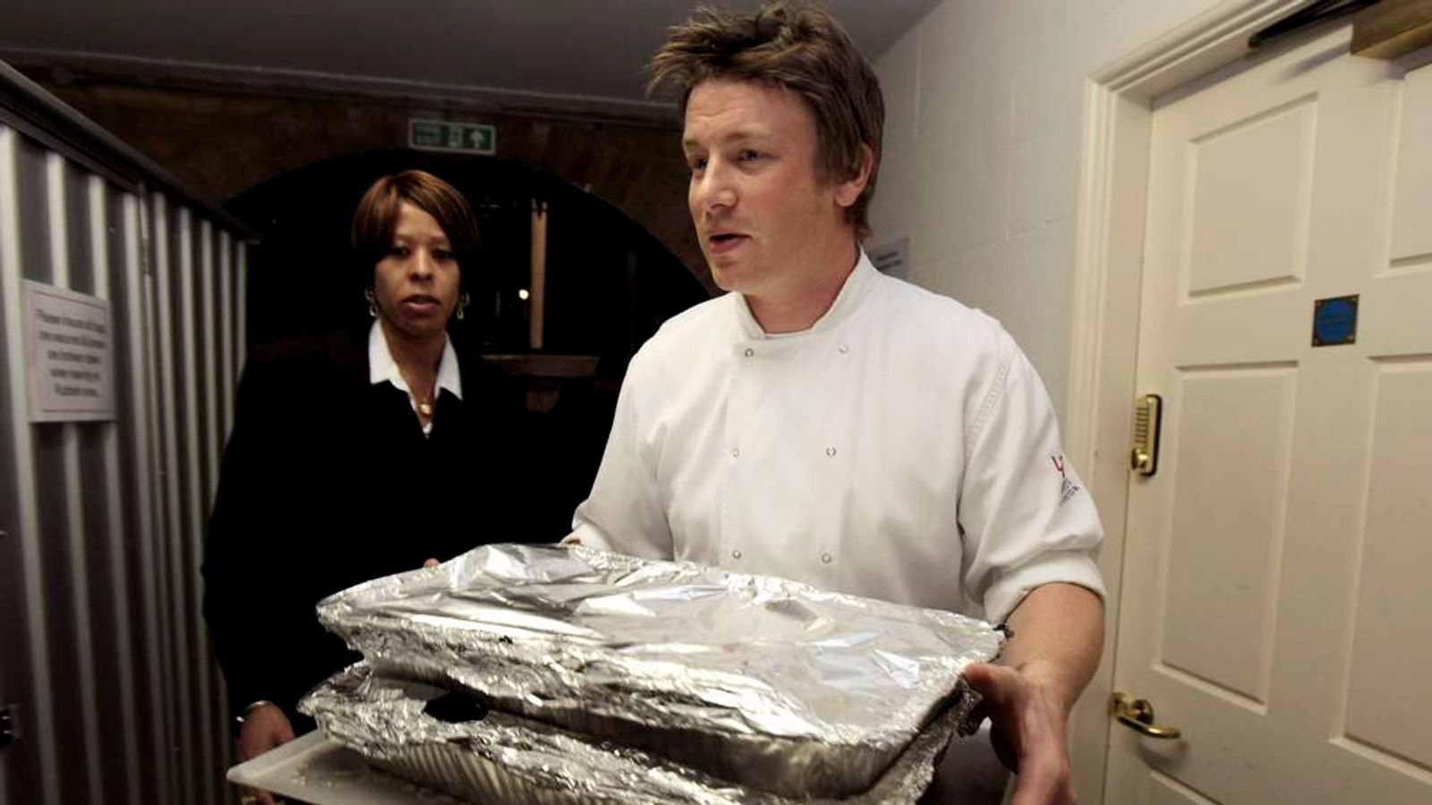 Oliver is no stranger to politics - in 2009 he prepared a meal for G20 leaders at Downing Street