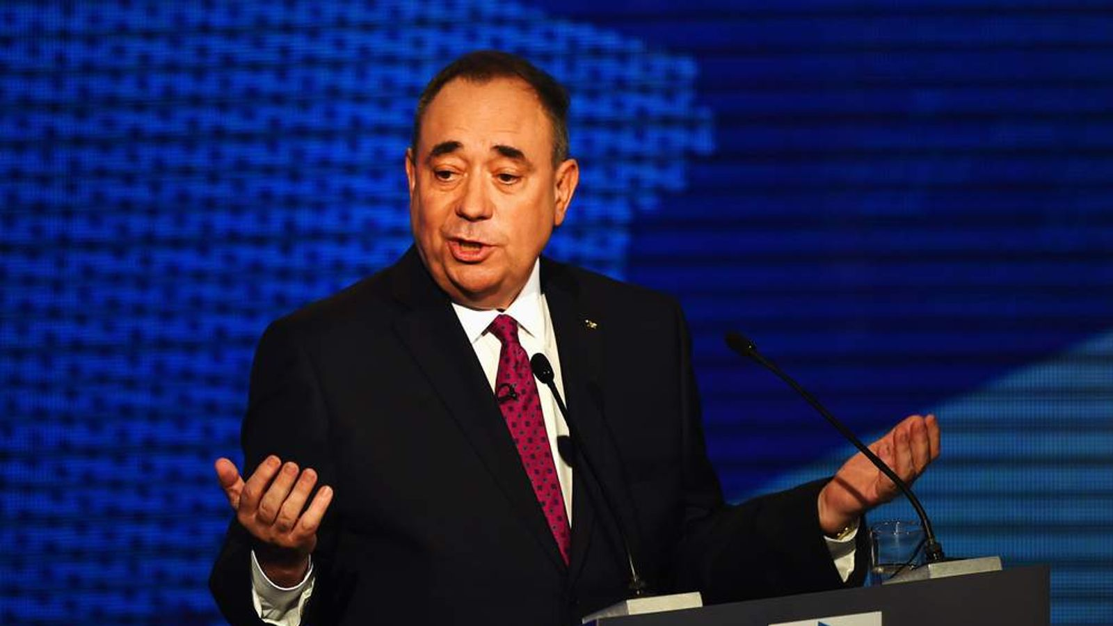 Television Debate Between Alex Salmond And Alistair Darling