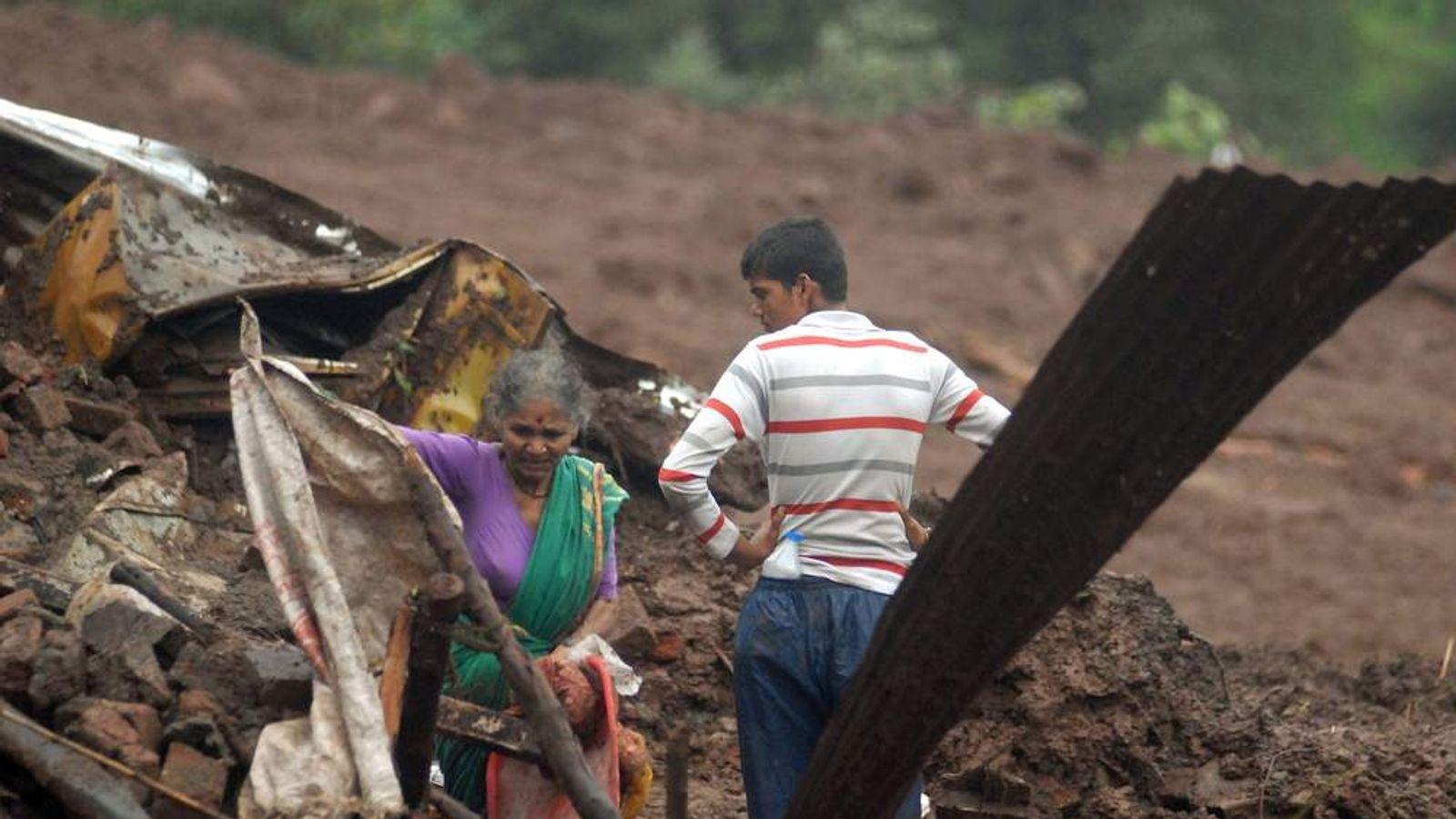 INDIA-DISASTER-LANDSLIDE
