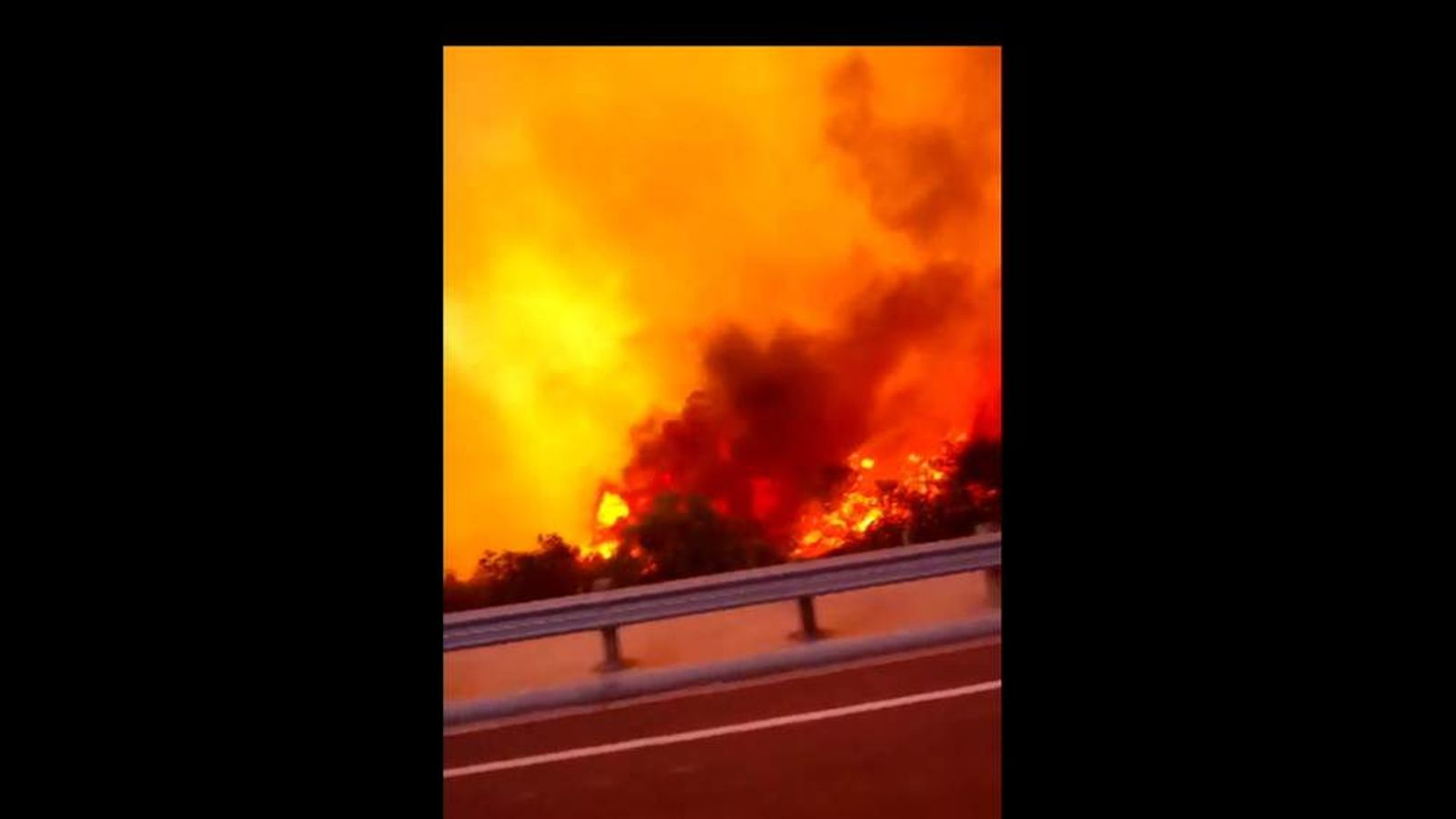 San Diego County wildfires