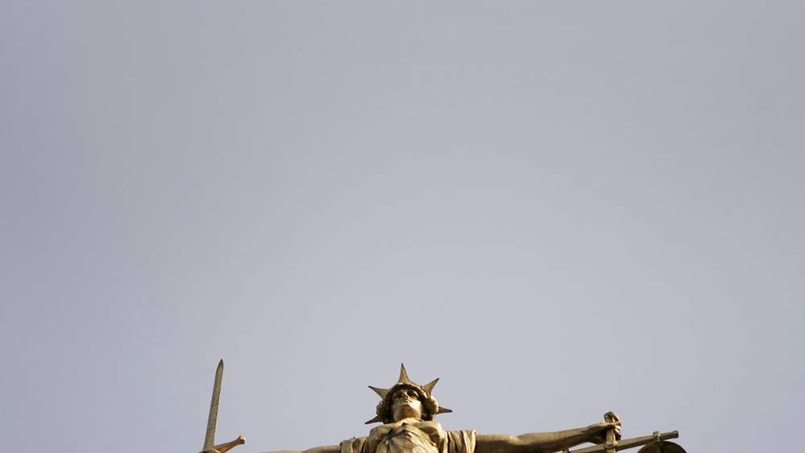 Old Bailey scales of justice