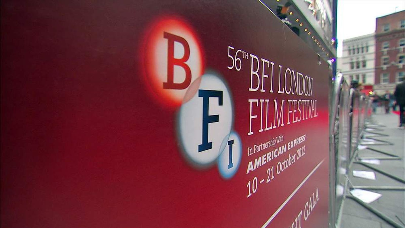 The London Film Festival is in its 56th year