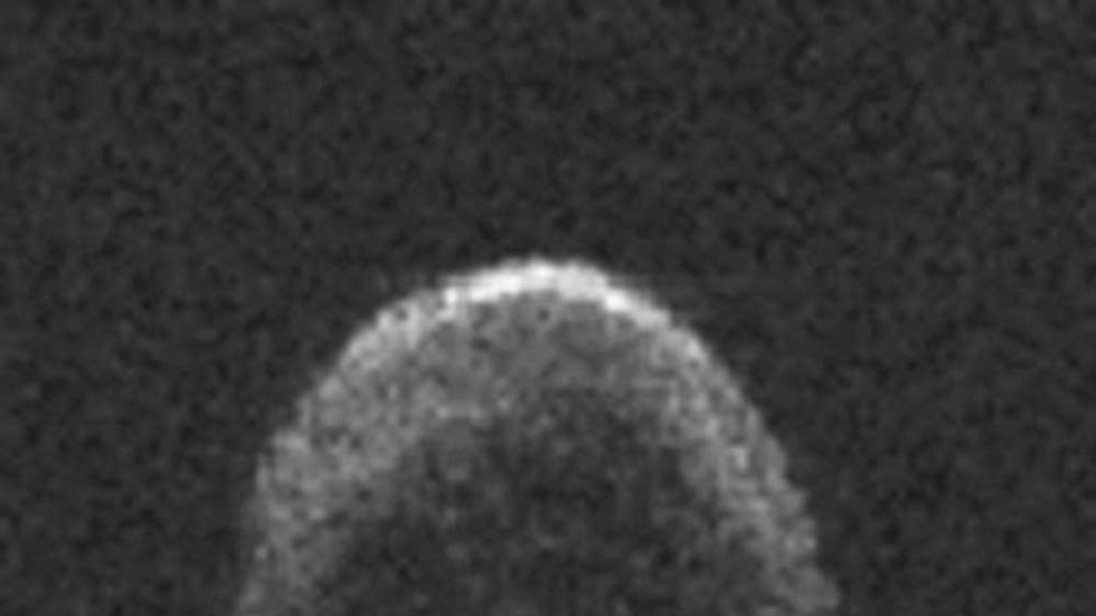 'Skull' Asteroid Skims Past On Halloween