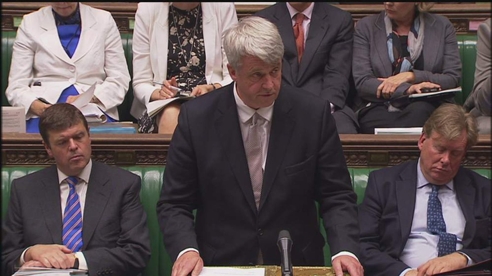 Andrew Lansley in the commons