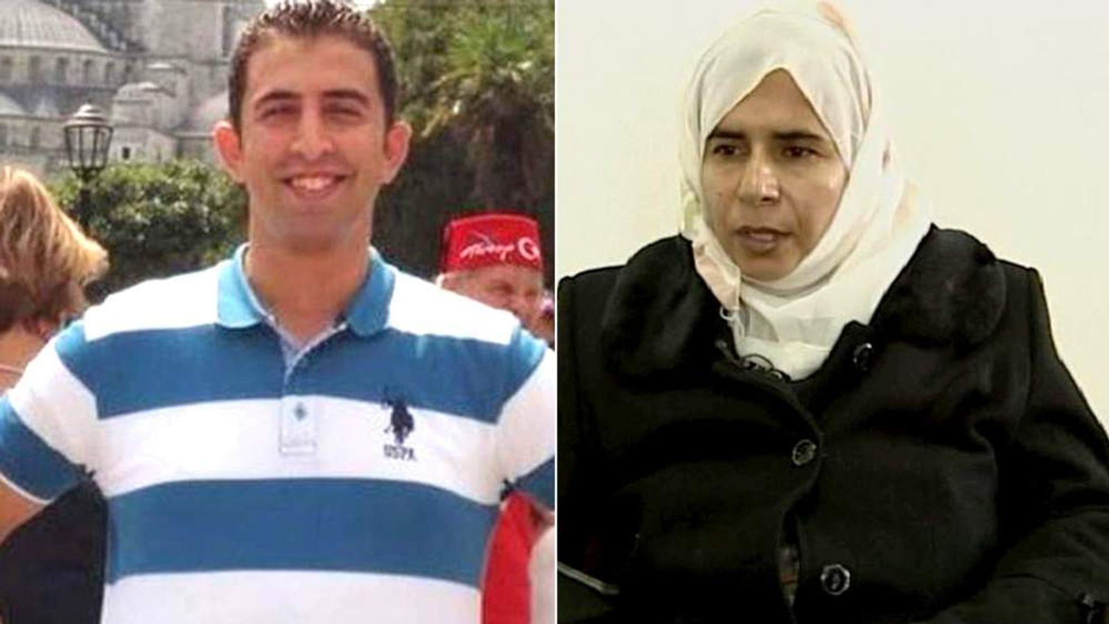 First Lieutenant Muath al Kasaesbeh & attempted suicide bomber Sajida al Rishawi