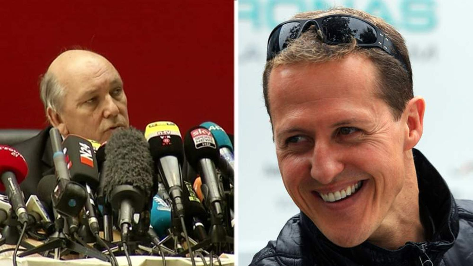 Patrick Quincy and Michael Schumacher