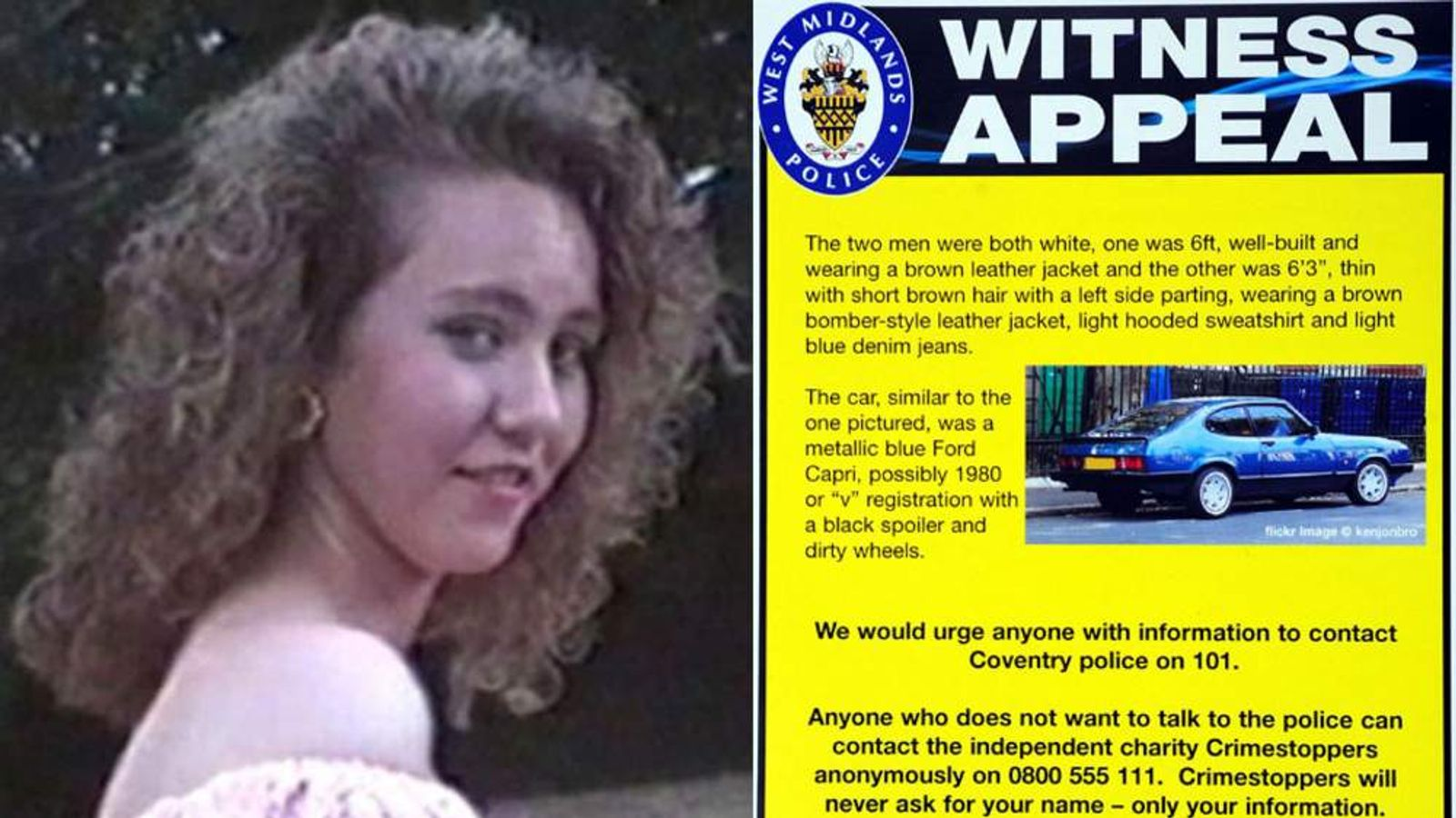 Nicola Payne went missing in December 1991