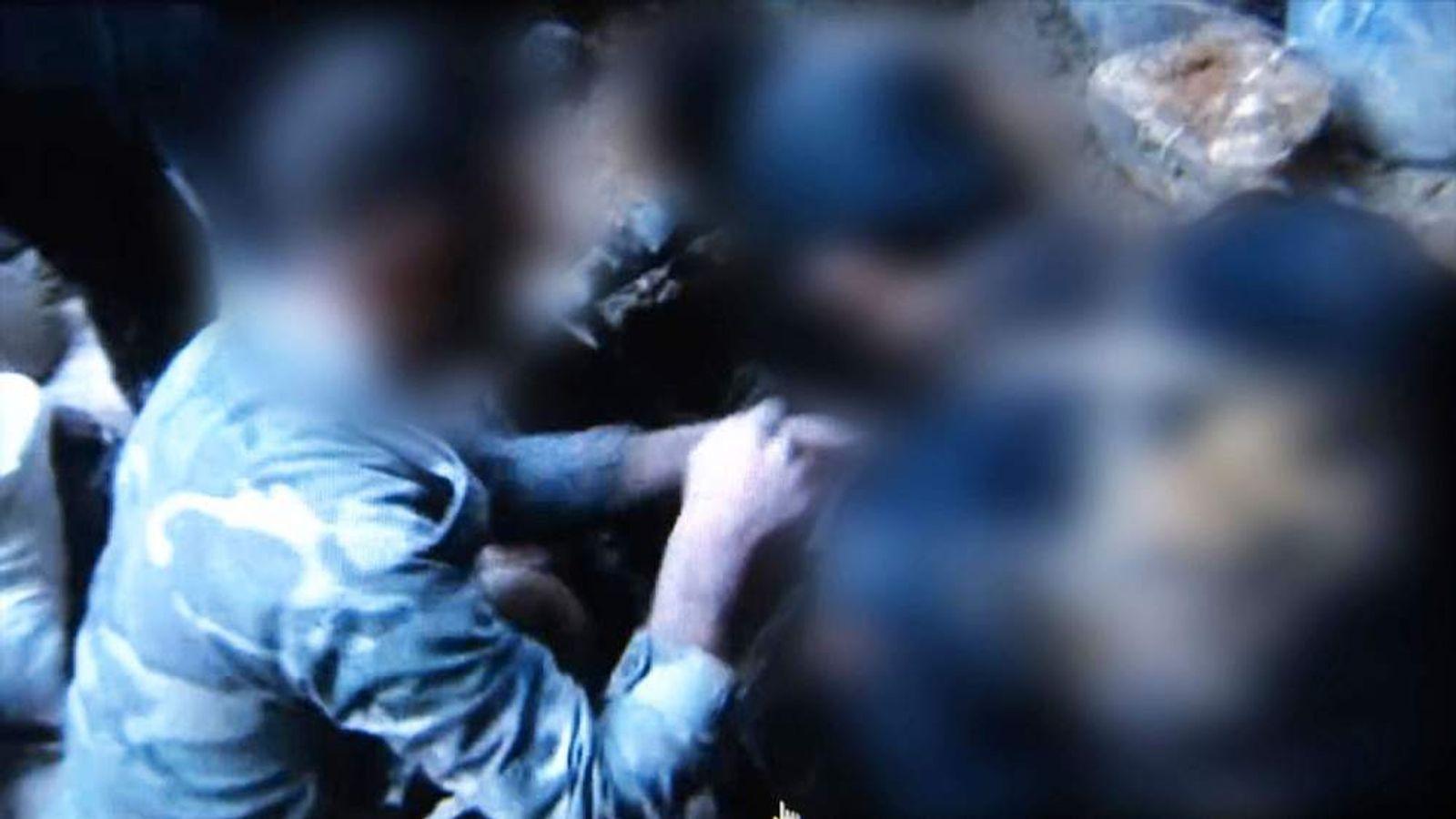 Underground tunnels in Syria