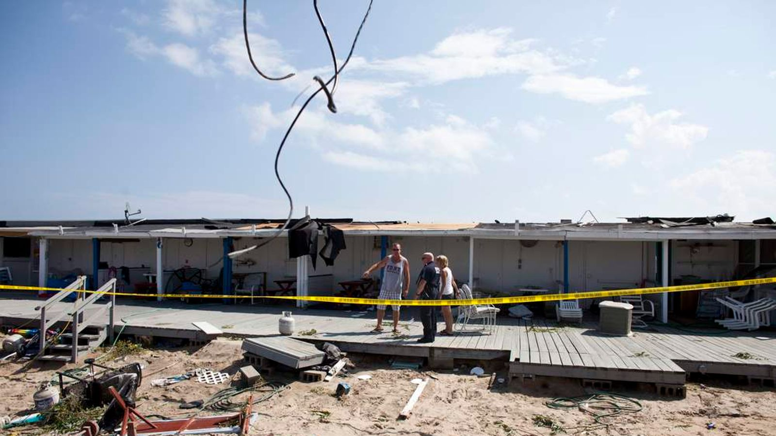 Tornado strikes beachfront neighborhood in NYC
