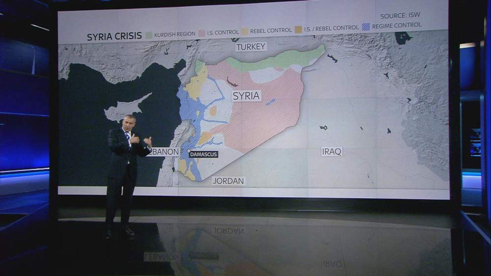 Graphic Syria territorial claims