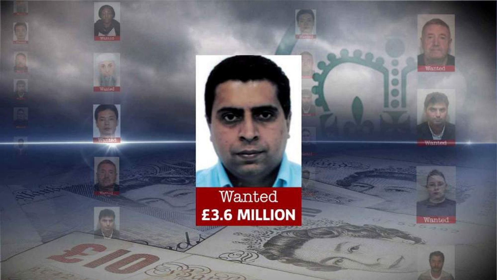 Sumir Soni - wanted for alleged tax evasion.