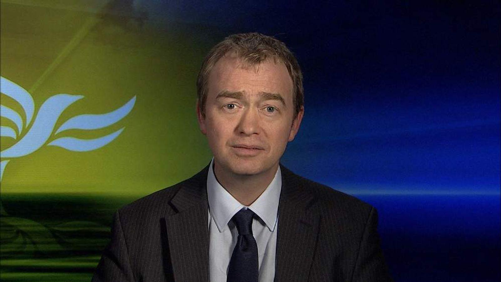 Liberal Democrat President Tim Farron MP