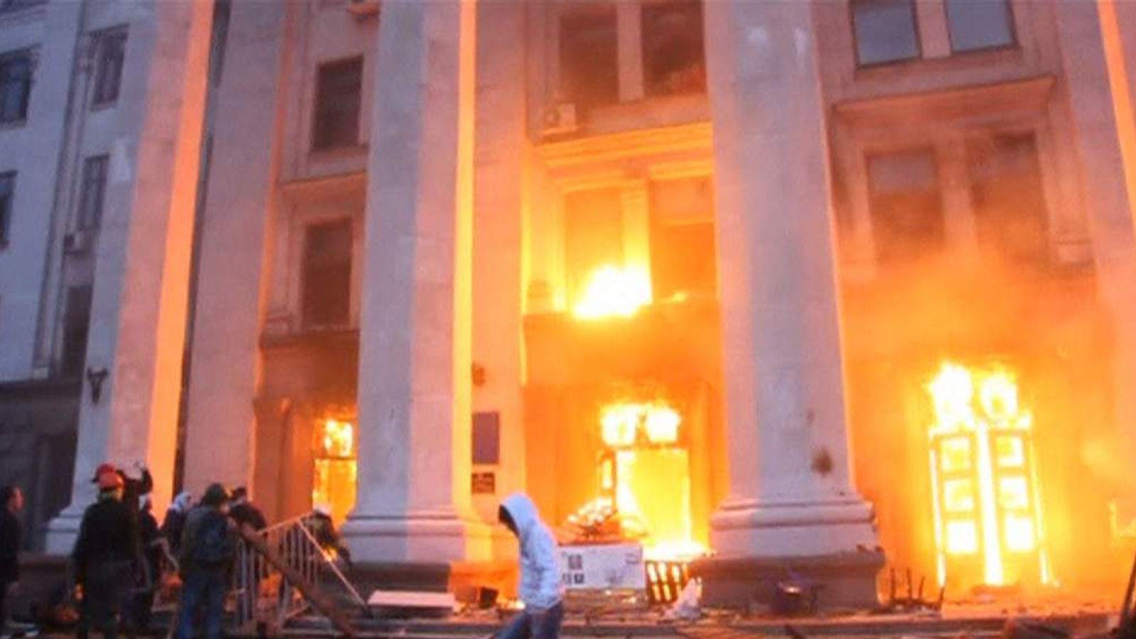 Unrest in Slavyansk