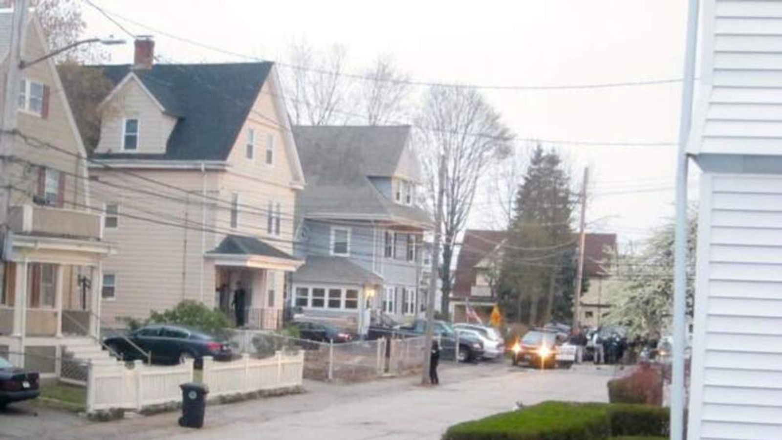 Watertown shooting scene