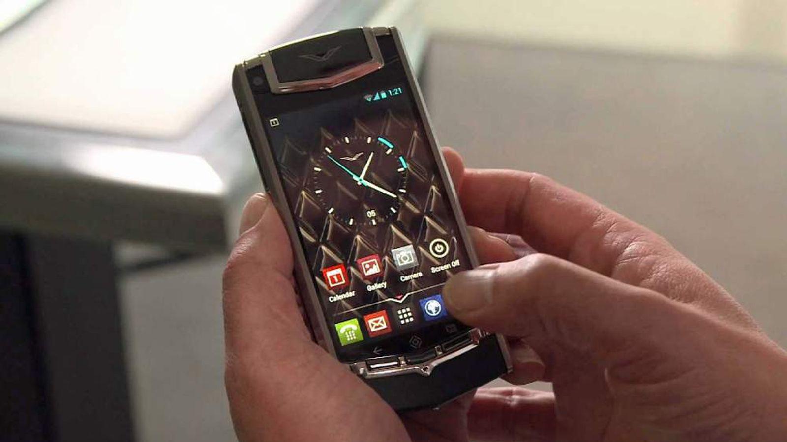 "Vertu ""Ti"" smartphone"