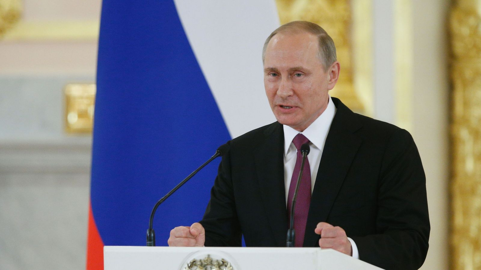 Vladimir Putin says the absence of Russian track and field athletes will devalue the Games