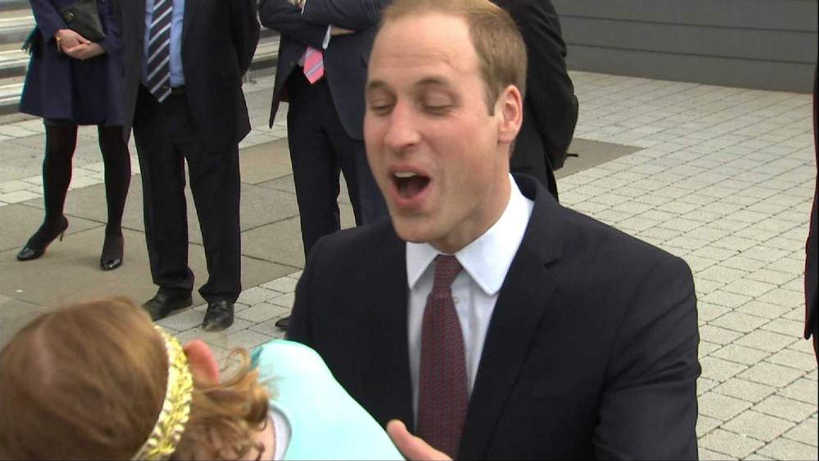 Prince William in Scotland