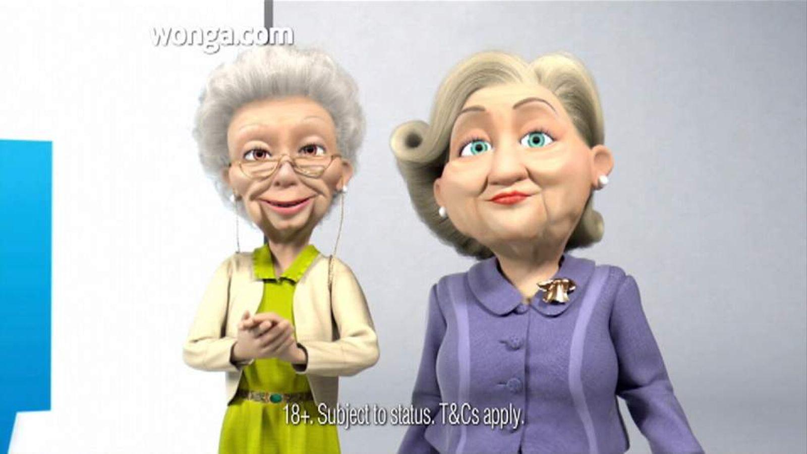 Wonga TV Ad