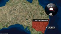 Coffs Harbour map