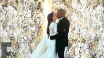 Kim and Kanye's wedding
