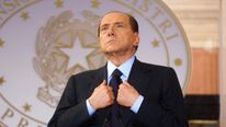Italian Prime Minister Silvio Berlusconi attends the Italy-France Summit, 2011