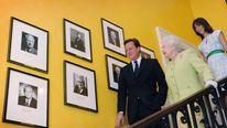 Queen Elizabeth in Downing Street