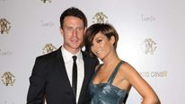 Frankie Sandford and her fiance Wayne Bridge