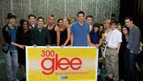 The cast of Glee celebrate performing 300 songs on the show